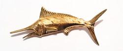 Pendentif Marlin Or Jaune