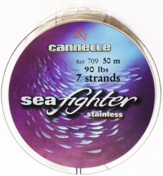 Acier Inox 7 brins gainé nylon VMC Seafighter