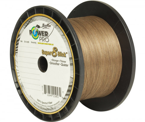 Tresse Power Pro Super Slick Timber Brown