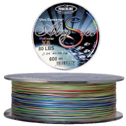 Tresse Powerline Multicolore Abysse