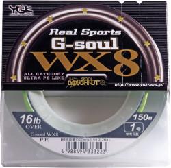 Tresse YGK G-SOUL REAL SPORTS WX8