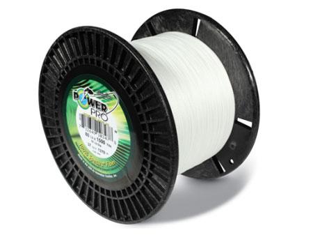 Tresse Power Pro Braided Line Blanche