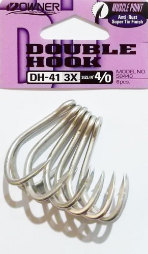 Hameçons Doubles Owner DH41