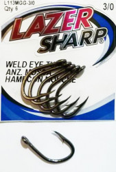 Hameçons Simples Eagle Claw L113MGG