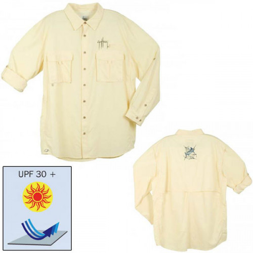 Chemise Guy Harvey - Jaune