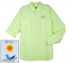 Chemise Guy Harvey - Verte