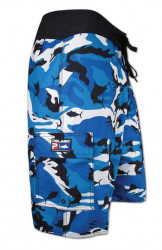 SHORT PELAGIC FISH CAMO SHORT