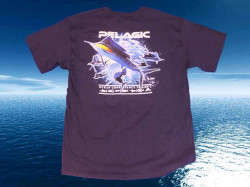 TEE-SHIRT PELAGIC BLEU MARLIN